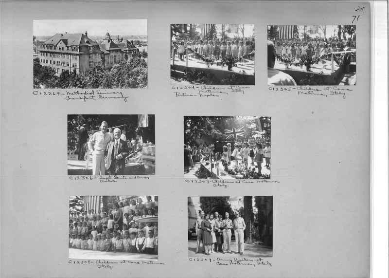Mission Photograph Album - Europe #09 Page 0071