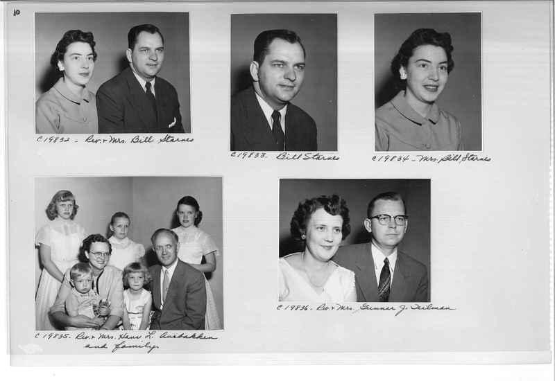 Mission Photograph Album - Portraits #09 Page 0010