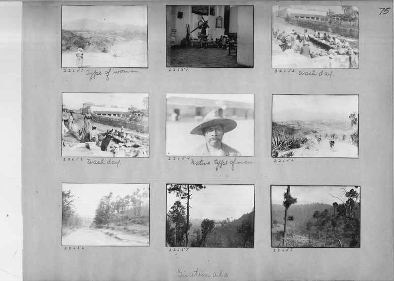 Mission Photograph Album - Panama #02 page 0075