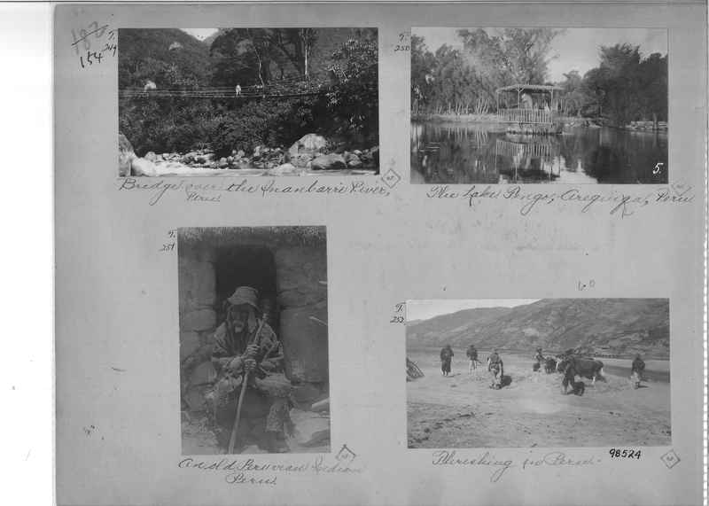 Mission Photograph Album - South America O.P. #2 page 0154