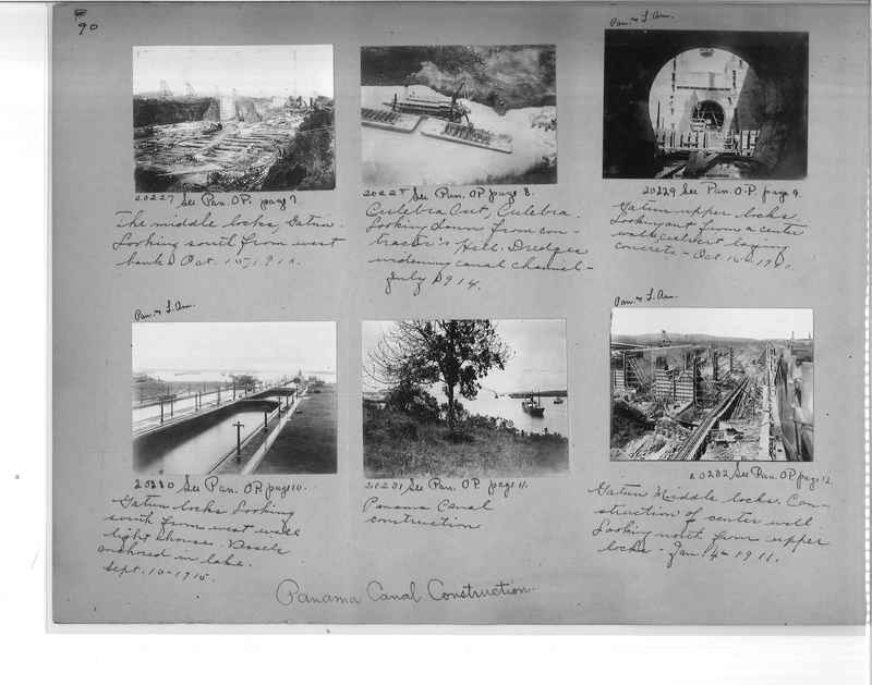 Mission Photograph Album - Panama #1 page  0090