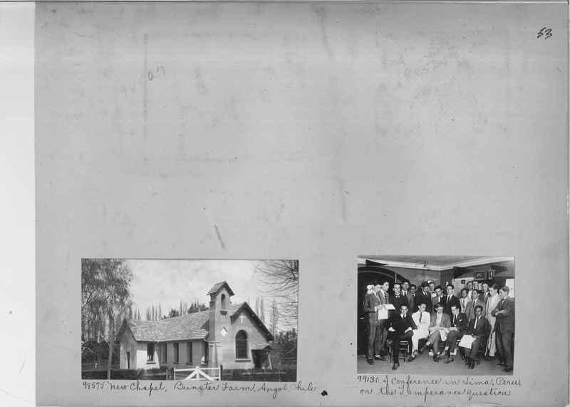 Misson Photograph Album - South America #8 page 0053