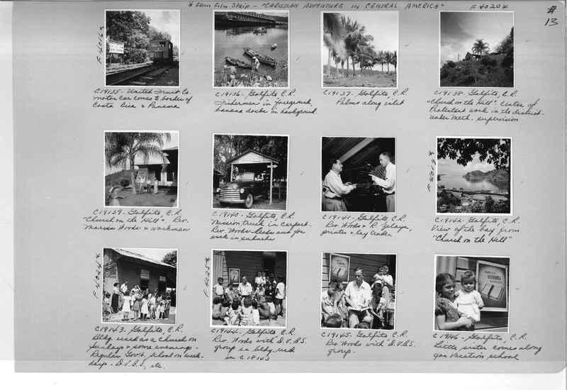 Mission Photograph Album - Panama #05 page 0013