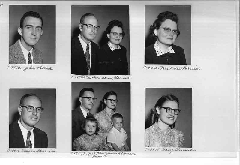 Mission Photograph Album - Portraits #09 Page 0016