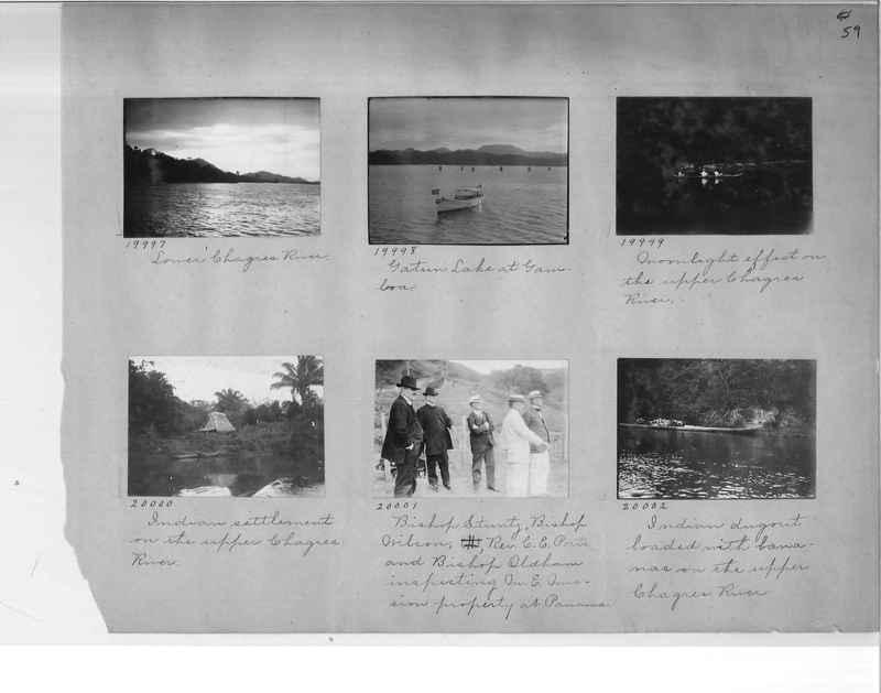 Mission Photograph Album - Panama #1 page  0059