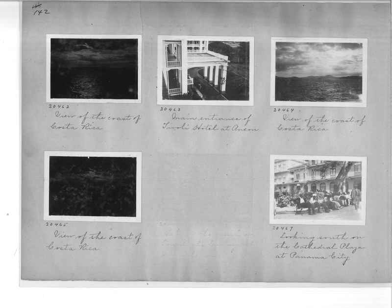 Mission Photograph Album - Panama #1 page  0142