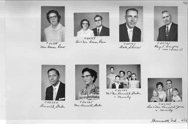 Mission Photograph Album - Portraits #09 Page 0115