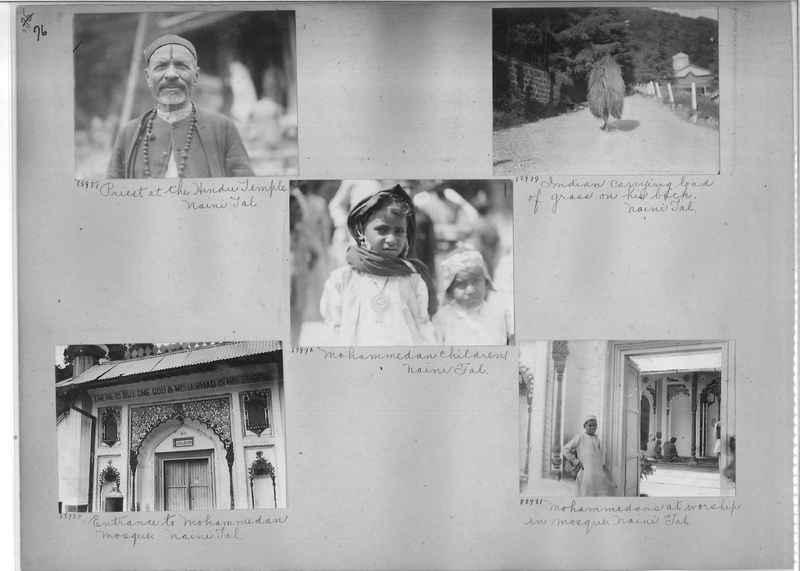 Mission Photograph Album - India #10 Page 0076