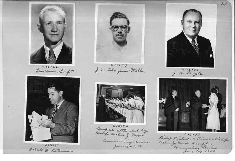 Mission Photograph Album - Portraits #07 Page 0039