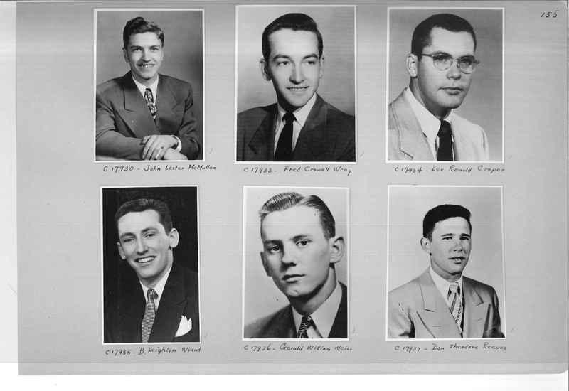 Mission Photograph Album - Portraits #07 Page 0155