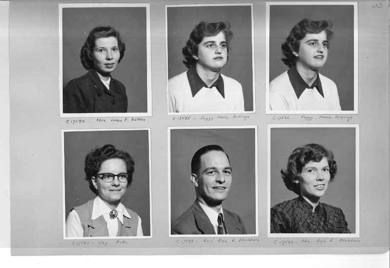 Mission Photograph Album - Portraits #07 Page 0133