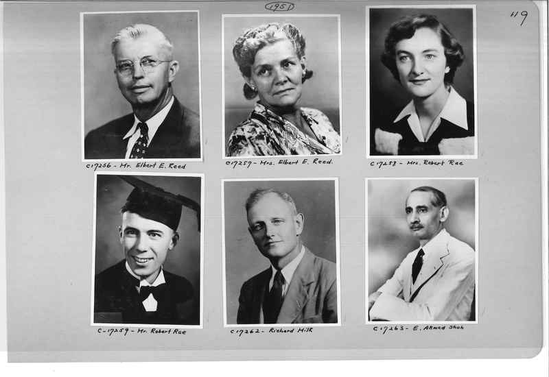 Mission Photograph Album - Portraits #07 Page 0119