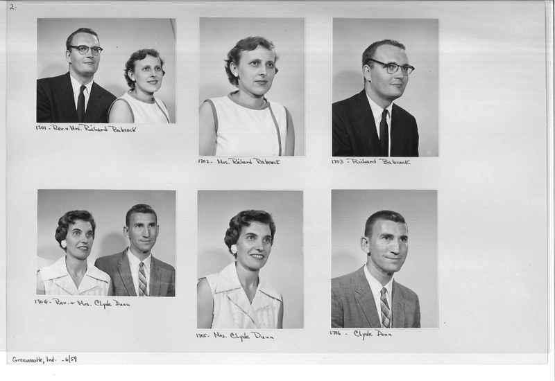Mission Photograph Album - Portraits #12 Page 0002