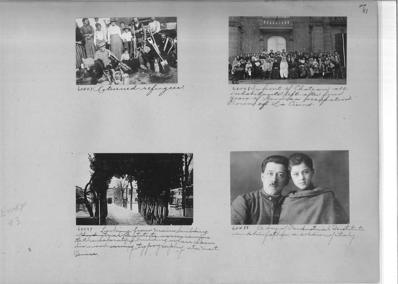 Mission Photograph Album - Europe #03 Page 0051