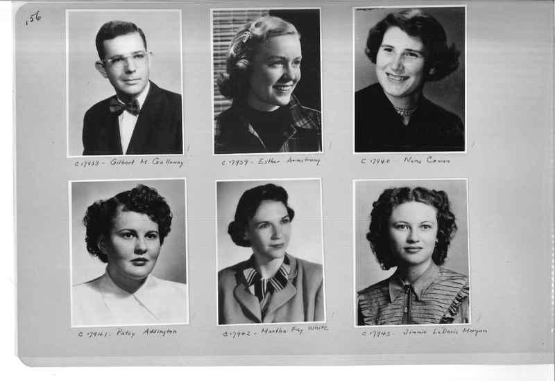 Mission Photograph Album - Portraits #07 Page 0156