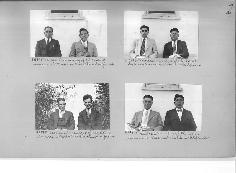 Mission Photograph Album - Latin America #2 page 0041