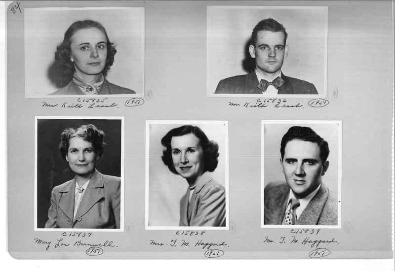 Mission Photograph Album - Portraits #07 Page 0084
