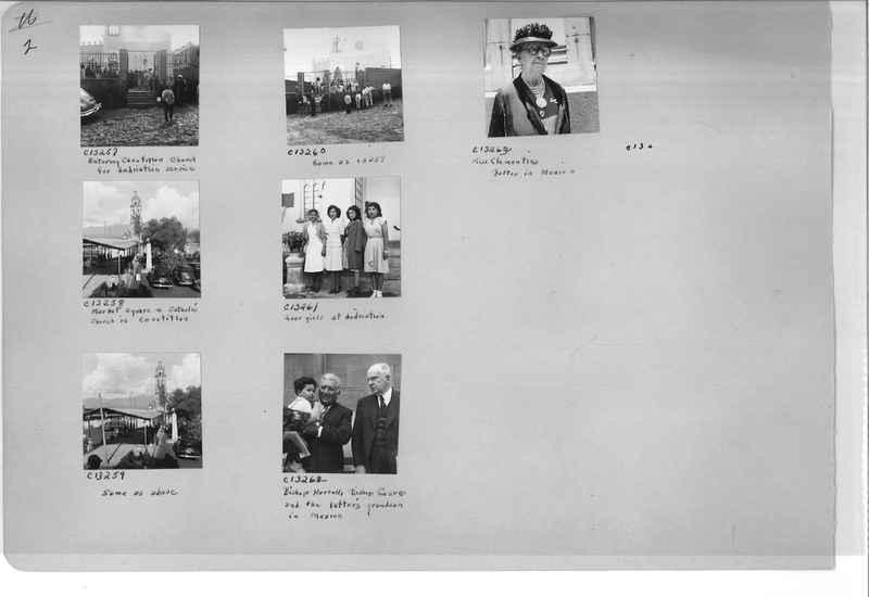Mission Photograph Album - Mexico #09 Page 0002