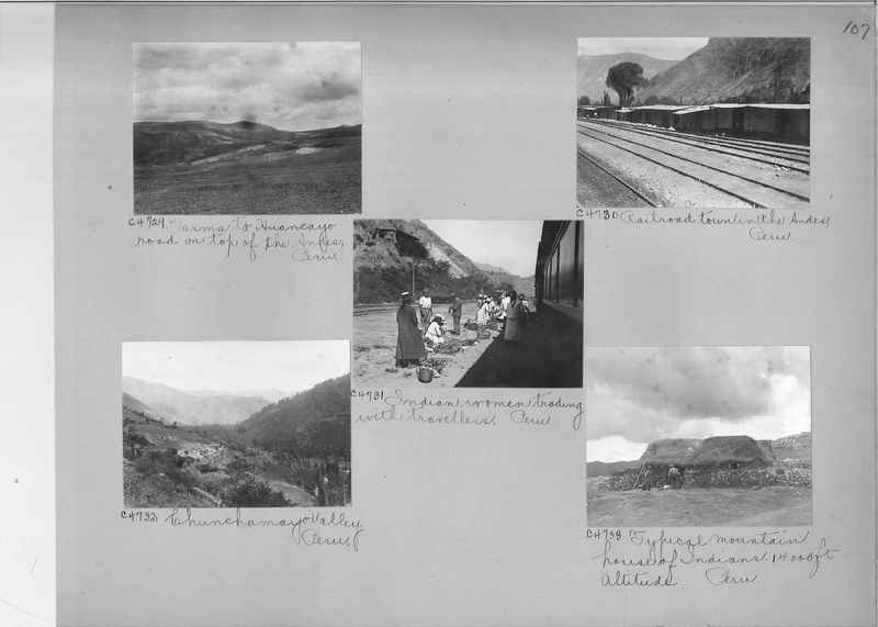 Misson Photograph Album - South America #8 page 0107