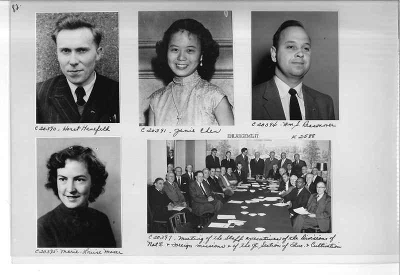 Mission Photograph Album - Portraits #09 Page 0082