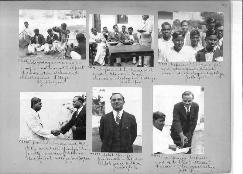Mission Photograph Album - India #13 Page 0151