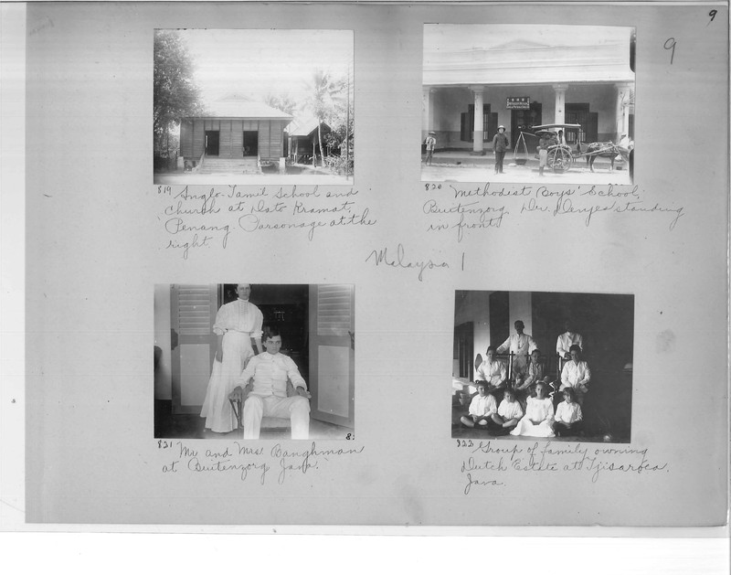 Mission Photograph Album - Malaysia #1 page 0009