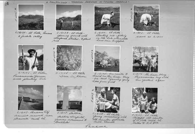 Mission Photograph Album - Panama #05 page 0010