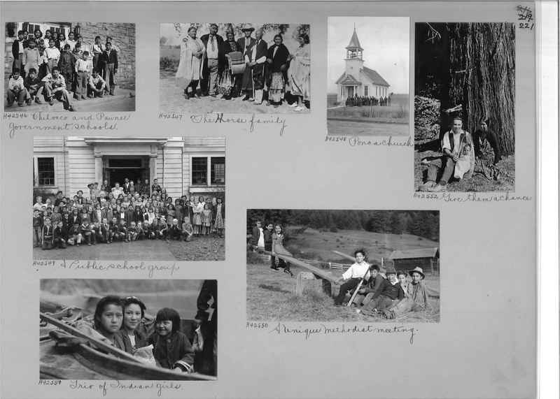 Mission Photograph Album - Indians #2 page_0221
