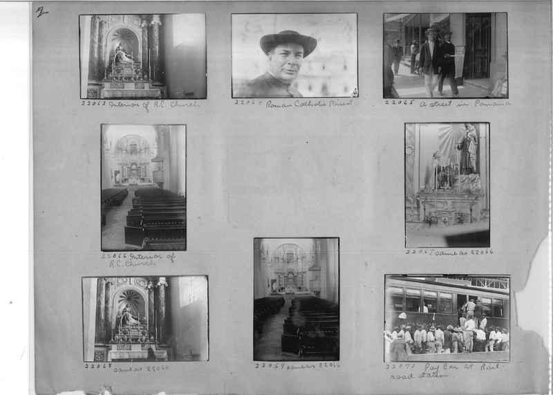 Mission Photograph Album - Panama #02 page 0002
