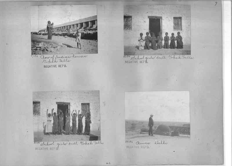Mission Photograph Album - India #10 Page 0007