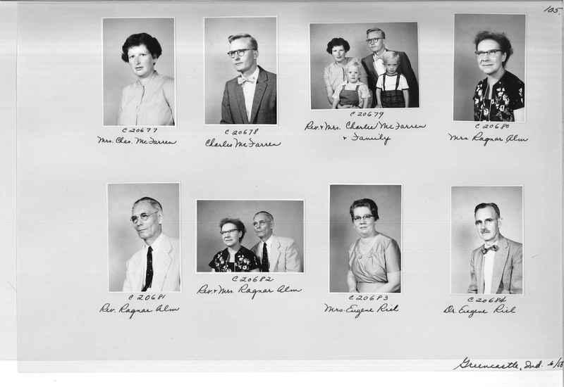 Mission Photograph Album - Portraits #09 Page 0105