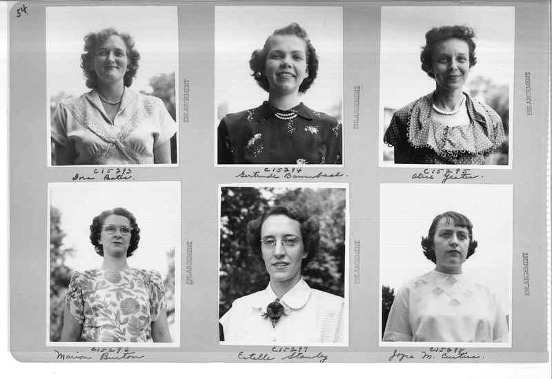 Mission Photograph Album - Portraits #07 Page 0054