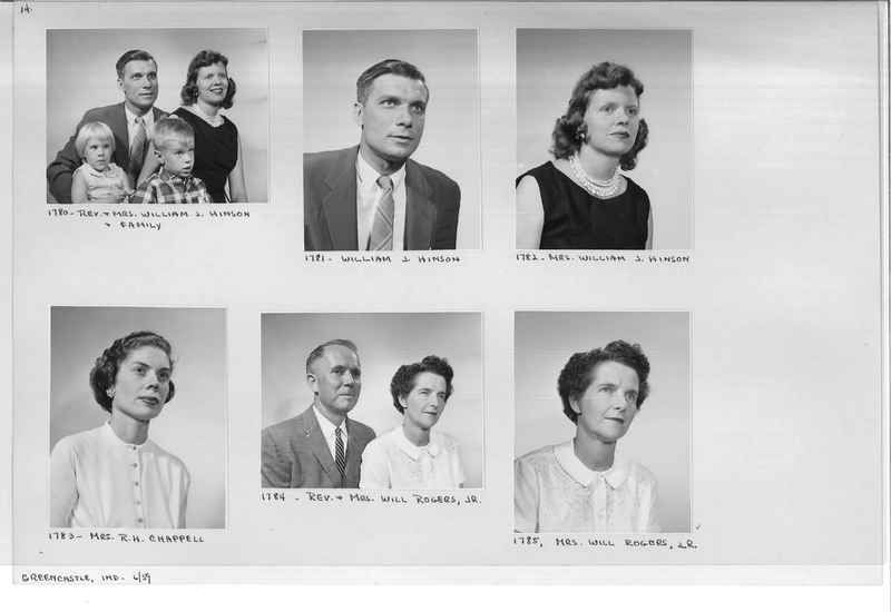 Mission Photograph Album - Portraits #12 Page 0014