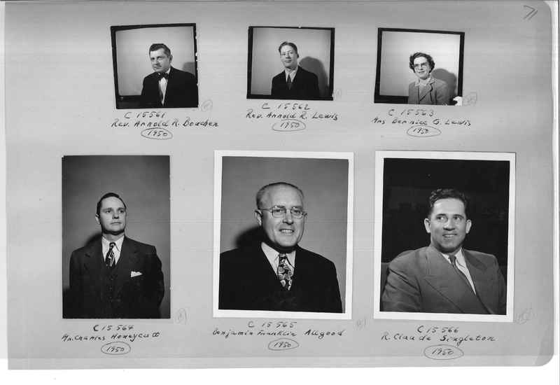 Mission Photograph Album - Portraits #07 Page 0071