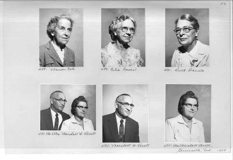 Mission Photograph Album - Portraits #11 Page 0033