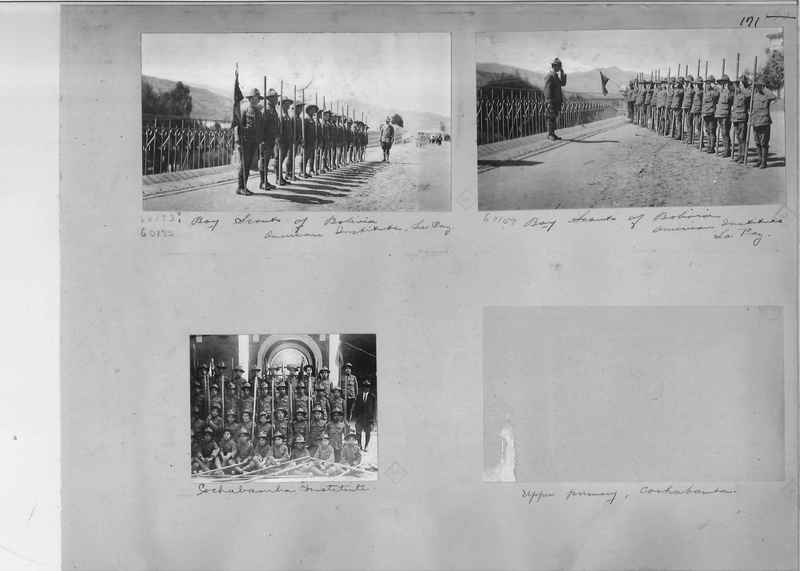 Mission Photograph Album - South America O.P. #1 page 0171