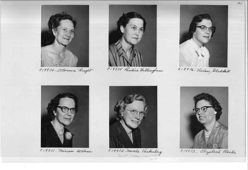 Mission Photograph Album - Portraits #09 Page 0031