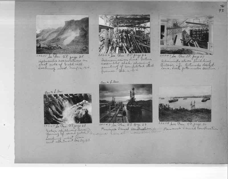 Mission Photograph Album - Panama #1 page  0093