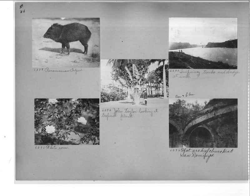 Mission Photograph Album - Panama #1 page  0036