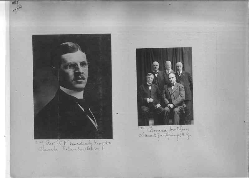 Mission Photograph Album - Portraits #3 page 0222