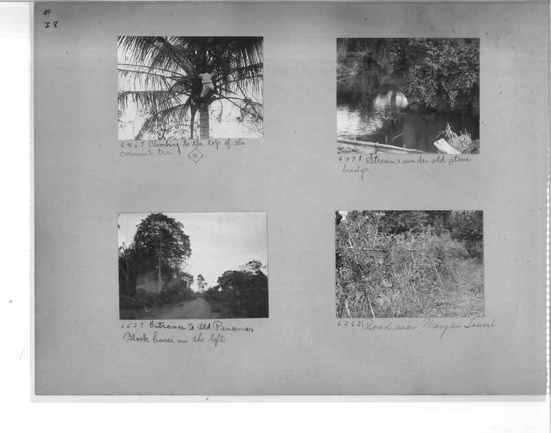 Mission Photograph Album - Panama #1 page  0038