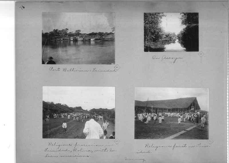 Mission Photograph Album - South America O.P. #1 page 0076