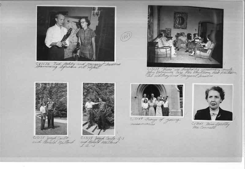 Mission Photograph Album - Portraits #07 Page 0110