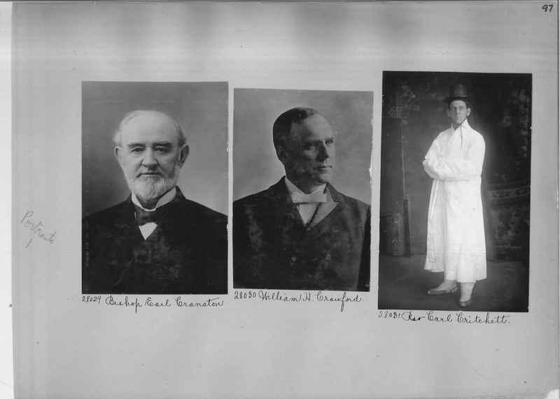 Mission Photograph Album - Portraits #1 page 0097