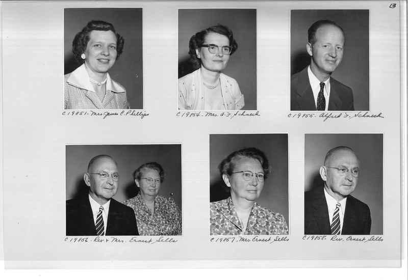 Mission Photograph Album - Portraits #09 Page 0013