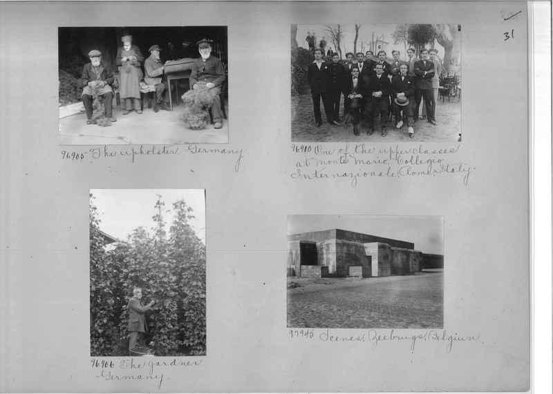 Mission Photograph Album - Europe #09 Page 0031