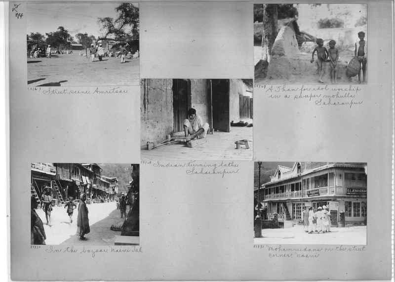 Mission Photograph Album - India #10 Page 0074