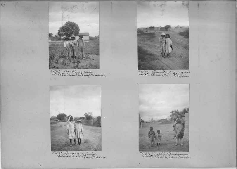 Mission Photograph Album - Indians #2 page_0042