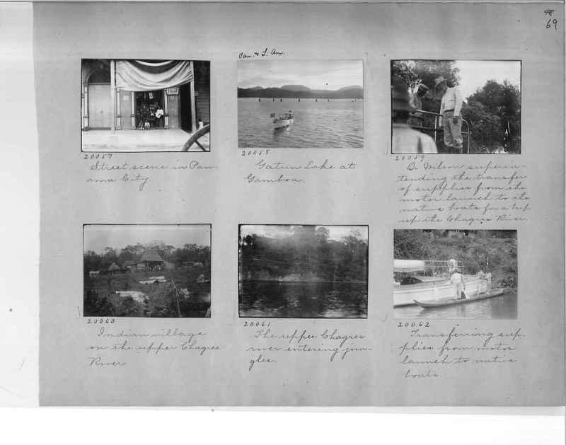 Mission Photograph Album - Panama #1 page  0069