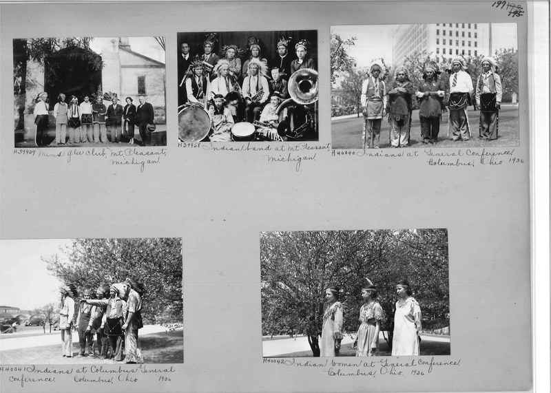 Mission Photograph Album - Indians #2 page_0197